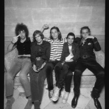"Strokes Poster Black and White Poster 24""x36"""
