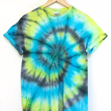 ONE OF A KIND Tie Dye Unisex Tee #5 Size Medium