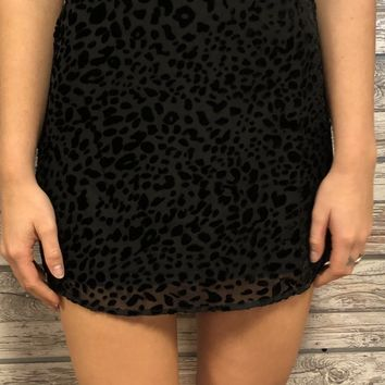 Running Wild Skirt- Black