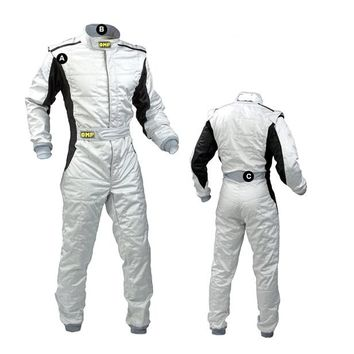 2017 omp new arrivel  car racing suit one piece coverall sports clothing polyester fit men and women not fireproof