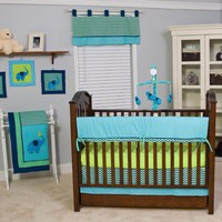 Pam Grace Creations ZigZag 10 Piece Crib Bedding Set - Walmart.com