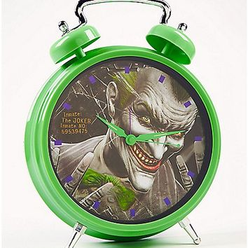 Arkham Joker Bell Clock - Spencer's