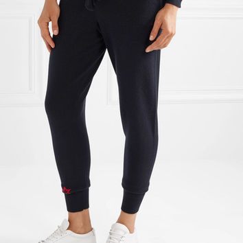 Chinti and Parker - Cashmere track pants