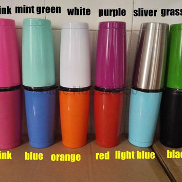 12 Colors 20oz  Cup 304 Stainless Steel Rambler  Coolers Rambler Tumbler Double Walled Travel Mug