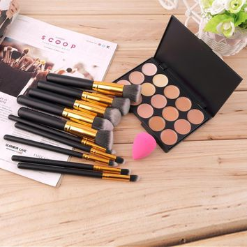 Professional Eye Makeup Brushes 10 pcs Set