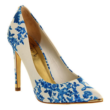 Ted Baker Luceey High Heel Blue Satin - High Heels