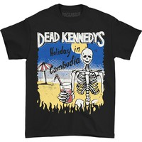 Dead Kennedys Men's  Cambodian Skeleton T-shirt Black