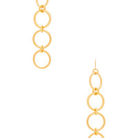 Vanessa Mooney Kiley Earrings in Gold