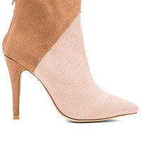 Jordan Cow Hair Bootie in Tan