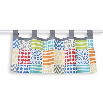 Sumersault Doodle Brights Valance