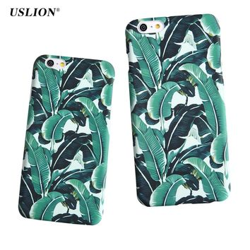 Banana Leaves Phone Case for iPhone