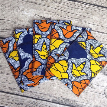 Reusable gift bags, fabric gift bags, African gift bags, wedding gift bags, wedding favour, wedding favour bags x5