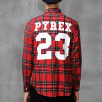 Pyrex 23 Check Fleece Shirt - S M L