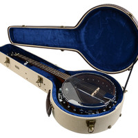 Deluxe Wood Case for Banjo