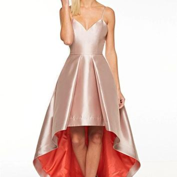 Gia Hi-Lo Prom Formal Event Dress Gown