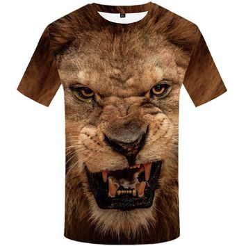 Lion - Unisex T-shirt - All Over Print