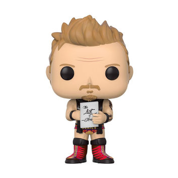 "Chris Jericho ""List of Jericho"" Red POP! Vinyl"