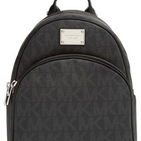 Women's MICHAEL Michael Kors 'Small Jet Set' Backpack - Black