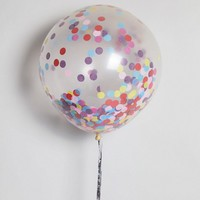 Ginger Ray Pack of 3 Large Multi-Coloured Confetti Balloon at asos.com