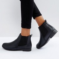 Boohoo Flat Chelsea Boot at asos.com