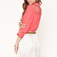 Nollie Lattice Back Tunic Shirt at PacSun.com