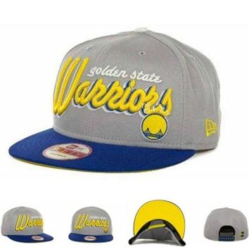 DCCKUN7 Golden State Warriors Nba Cap Snapback Hat - Ready Stock