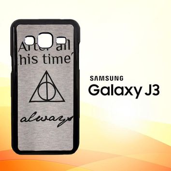 After all this time always quote harry potter Samsung Galaxy J3 Edition 2016 SM-J310 Case