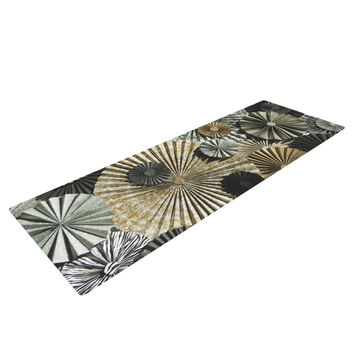 "Heidi Jennings ""All That Glitters"" Brown Glitter Yoga Mat"