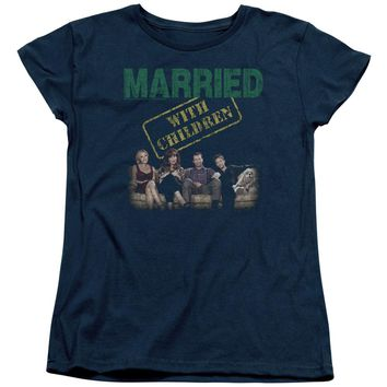 Married With Children - Vintage Bundys Short Sleeve Women's Tee