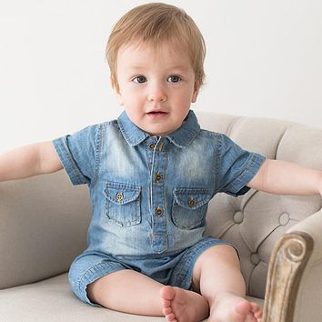 Summer New Arrival Baby Boy Clothes Cotton Fashion Design Baby Boys Clothing Set Baby Rompers Clothes One Piece Jumpsui