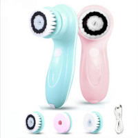 Beauty Tool Face Cleanser 3In1 Facial Cleansing Brush Rotating Makeup Tools