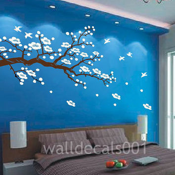 cherry blossom Wall decal kids decal baby nursery by walldecals001