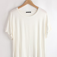 Short Sleeve Loose Shirt
