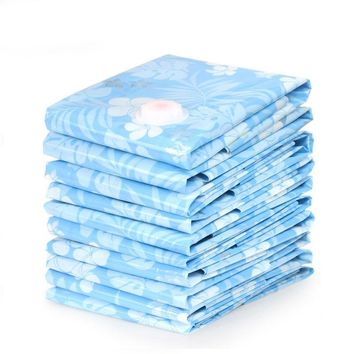 Vacuum Bag closet space savers vacuum Compressed Storage Bags Clothes Bedding Space Saving Plastic Seal Bags PA PE