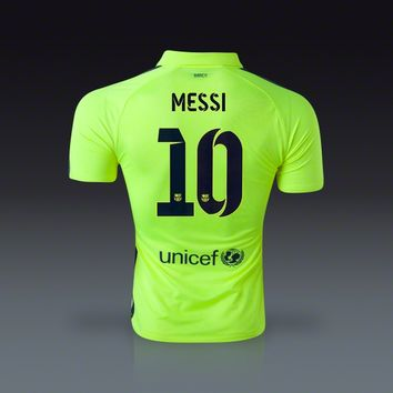uk availability 5e3d3 5cede Nike Lionel Messi Barcelona Authentic Third Jersey 14/15 - Flash