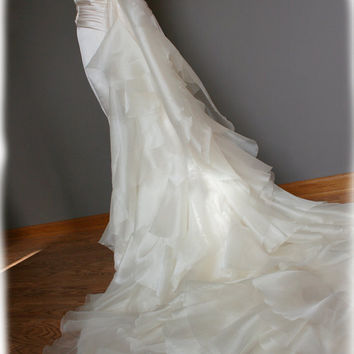 GORGEOUS Mermaid Wedding Dress with Amazing Ruffled by AvailCo