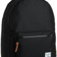 Herschel Supply Co. Settlement Backpack Black/Lime Punch One Size