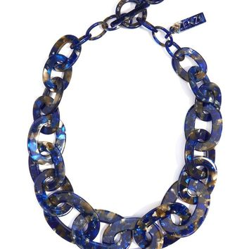 Zenzii Tortoise Links Collar Necklace