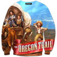 The Oregon Trail Crewneck