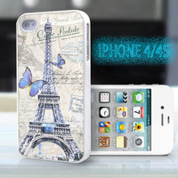 unique iphone case,glitter i phone 4 4s case,cool cute iphone4 iphone4s case,stylish  plastic rubber cases, The Eiffel Tower in Paris, ZB14