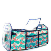 Splash Anchor Personalized Trunk Utility Bag with Insulated Cooler  Trunk Organizer  Car Organizer   Christmas Gift