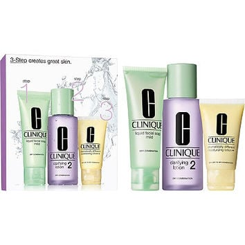 Clinique 3-Step Introduction Kit Skin Type 2 | Ulta Beauty