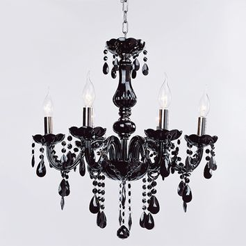 Cava Lighting Modern Fixture 6 Light Ceiling Chain Chandelier