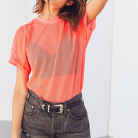 Without Walls Juno Mesh T-shirt | Urban Outfitters