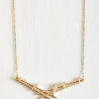 In Perch of Love Necklace