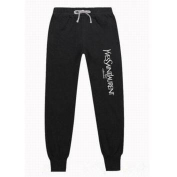 YSL long sweatpants same style man and woman