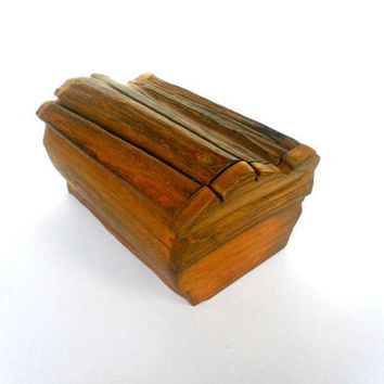 Rustic Box, Wooden Box, Natural Wood Box, Driftwood Box, Reclaimed Wooden Box, Jewelry Box, Recipe Box, anniversary gift, Zen Art box