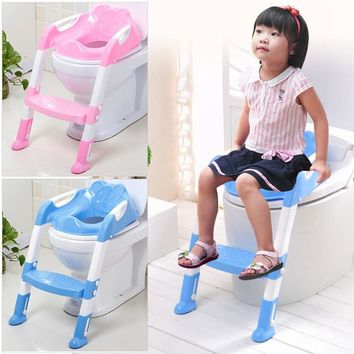 Kids Foldable Potty Trainer Chair