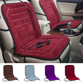 High Quality Car Heated Seat Cushion Hot Warmer Cover 12V Heat Heater Warmer Pad-winter Winter Car Heating Pads 12V