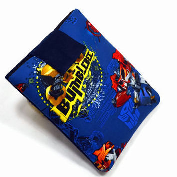 "Hand Crafted Tablet Case from Transformers Fabric/ Tablet Case For  Kindle Fire HD 7"" ,i Pad Mini,Nook HD 7, Samsung Galaxy 7"